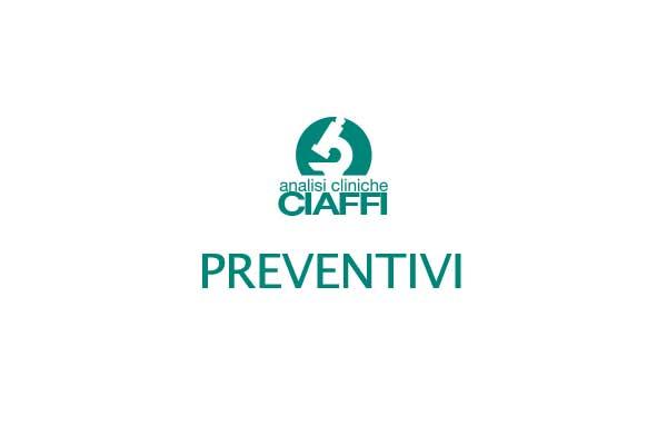 Preventivi Analisi Cliniche Ciaffi